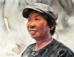 Акварельные портреты Misulbu (South Korea).. Обсуждение на LiveInternet - Российский Сервис Онлайн-Дневников