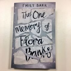 The cover for the second proof of Flora Banks.