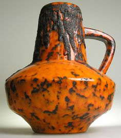 Fat Lava West German Pottery