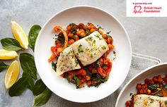 Spanish cod with chickpeas & roasted peppers Chicken And Chickpea Curry, Chickpea Stew, Recipe Finder, Roasted Red Peppers, Healthy Eating Recipes, Main Meals, The Fresh, Cooking Time, Cod