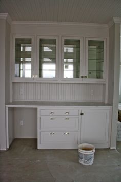 okay, this combines the desk area/hutch --- hmmmmm i think i like it  Built in…