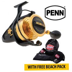 Heavy Duty Penn SSV Spinfisher Series Spinning #Reels Plus FREE Beach Gift Pack available on January Sale in Australia provided by Dinga Fishing Tackle Store!