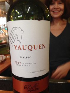 Love this inexpensive Malbec. So rich! Had it at the Nest.