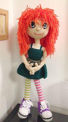 The Carrot Amigurumi doll My work