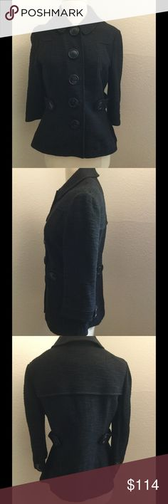 """🌴Tory Burch 11084529 black coat🌴 🌴Tory Burch pea coat Simply darling black it futures 5 large buttons for closure in new condition dimension bust 19"""" inches.                                     Length 24"""" inches                                             Sleeve 17"""" inches. Tory Burch Jackets & Coats Pea Coats"""
