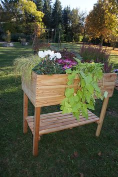 potager sur lev m tal 100cm sur. Black Bedroom Furniture Sets. Home Design Ideas