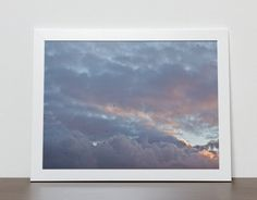 Sunset sky photography prints clouds fine art by BonVoyageStudio