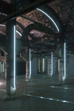 The (SELFI) exhibition by Spanish-Mexican artist Darya von Berner, produced for the old cold storage room at the former Madrid Municipal slaughterhouse, is a perspective on the perception, attention, ecology and the selfie culture.