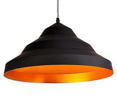 Pendente produzido em alumínio, com capacidade para 01 lâmpada E27. MaterialAlumínio MedidasAltura: 20 cm x Diâmetro: 40 cm