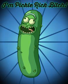 Rick and Morty • I'm Pickle Rick Bitch!