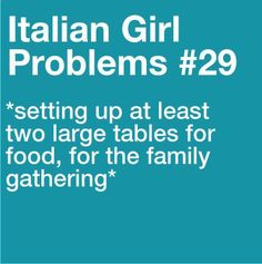 Every Sunday (and a small table for the little ones) ~ family & food!