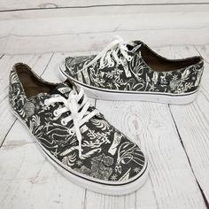 Vans Skate Hawaiian Tribal Dolphin Sea Life Ocean Nautical Mens Shoes 11 EU44.5 #VANS #FashionSneakers