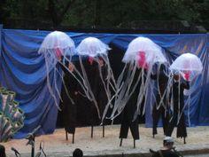 Jellyfish Puppets