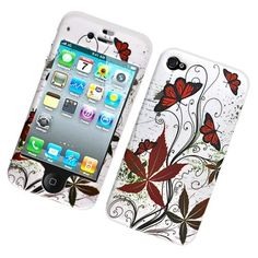 Do you want to protect your iPhone 4/4S fully?Do you want to create new look for it?If so, let's enjoy with Four Butterfly Texture hard case now!
