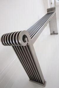 Sanata design radiatoren Luxe, stijlvol en elegant. Horizontale woonkamer radiatoren sensationeel. 1264 tot 2632 WATT
