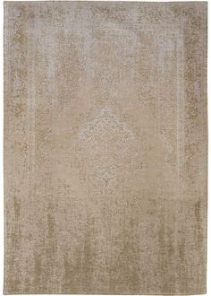 Louis De Poortere Fading World Rug - Beige Cream
