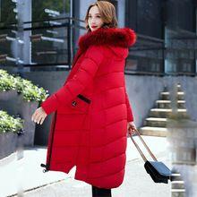 Wmwmnu brand 2017 fashion european Warm winter jackets Woman Parka and Fur collar Winter Thick long Coat Women parka mujer 070 //FREE Shipping Worldwide //