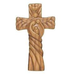 Wood Carving Art, Wood Art, Love Spoons, Wood Crosses, Claddagh, Crucifix, Sculptures, Woodworking, Symbols