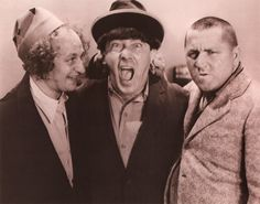 Moe Howard and The Three Stooges | biography | Moe | Larry | Curly | Shemp | clown ministry | Three Stooges Reviews