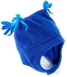Extending down to protect little ears, the REI Tri-Top fleece hat with chin strap for toddler boys offers plenty of warmth. #REIGifts