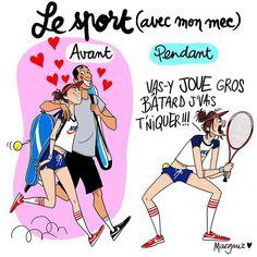 Mon bel esprit sportif #illustration #margauxmotin