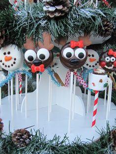 """Christmas Oreo Pops..."" ❤ ✿◕‿◕✿"