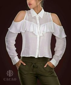 Off shoulder designer white top Diy Fashion, Fashion Outfits, Womens Fashion, Cool Outfits, Casual Outfits, Teenage Girl Outfits, Looks Chic, Indian Designer Wear, Western Wear