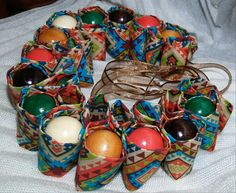African Kente necklace set Tribal necklace Ankara necklace