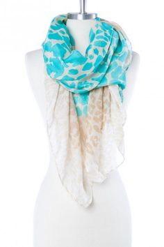 ShopSosie Style : Prowl Scarf in Turquoise Sweater Scarf, Lace Scarf, Dress Outfits, Cute Outfits, Dresses, Cute Scarfs, Islamic Clothing, How To Wear Scarves, Blazer