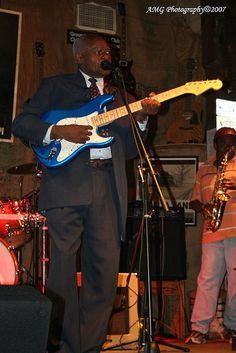 Johnny Billington at Ground Zero in Clarksdale, MS October 2007