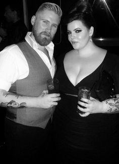 I love this couple. They are just perfection :) Tess Munster & Nick Holliday