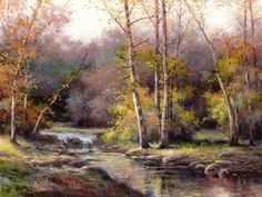 October_Forest_original_oil_on_canvas_painting_by_T_C_Chiu-1327975594l.jpg 1,000×750 pixels
