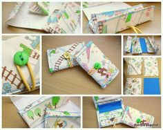 Yay I finished it! This is the tutorial for the mini wallet in this post . For the tutorial, I made a pair of mini wallets in Japanese cotto. Fabric Crafts, Sewing Crafts, Sewing Projects, Diy Crafts, Tape Crafts, Diy Projects, Sewing Patterns Free, Free Sewing, Sewing Tutorials