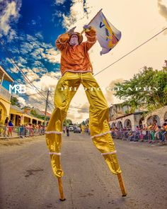 Love those Moko Jumbies. Crucian Christmas Festival Adult Parade - St. Croix US Virgin Islands