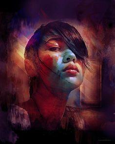 Digital Art by Richard Davies