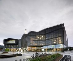 Gallery of Cultural Center Stjørdal / Reiulf Ramstad Arkitekter + Lusparken…