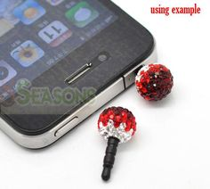 Earphone Stopper, wow, the first time I know these products. Now we can help better protect our mobile phone. Dear, love people's grand imagination.  Superb ~~~