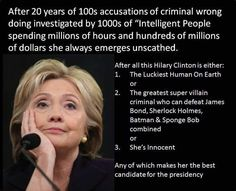 "Mr. Weeks on Twitter: ""Hillary Clinton is treated like a black man in America! yeah I said it! Always guilty even when proven innocent!…"