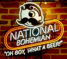 "The most iconic Maryland beer.  We call it ""Natty Boh"" - originally brewed in Baltimore, MD in 1885."