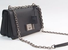... germany spring summer 2016 prada mini saffiano leather shoulder bag  with chain black c9ca4 11a06