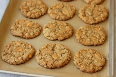 Gluten-Free Oatmeal Scotchies | Meaningful Eats