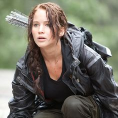 Katniss Everdeen (Jennifer Lawrence) in Die Tribute Von Panem