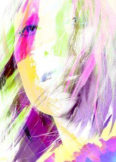 Charlotte Gainsbourg - Digital art
