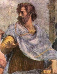 Es uno de los filósofos de la Grecia antigua más conocidos en nuestros días. Aristóteles fue discípulo de Platón y compartió e interpretó de forma personal las teorías de su maestro. Aristóteles ha sido uno de los científicos más importantes de nuestra cultura y con una influencia enorme en el desarrollo de la ciencia hasta casi nuestros días. Además, fue el pionero de la lógica moderna o lenguaje científico