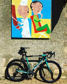 Cycling art.