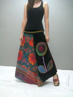 #LivingLifeInFullBloom  Gypsy skirt (282.1)