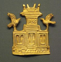 Mycenaean funerary pendant, Greek Archaeological Museum