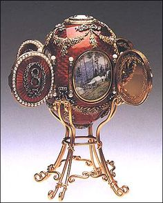 The Concise History of Fabergé Eggs: Caucasus Egg Objets Antiques, Fabrege Eggs, Faberge Jewelry, Imperial Russia, Egg Art, Russian Art, Egg Decorating, Victorian Era, Victorian Fashion