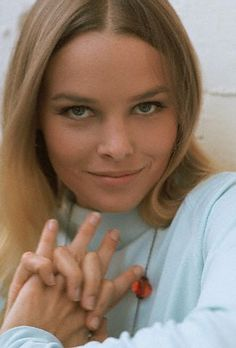 Michelle Phillips, by Henry Diltz