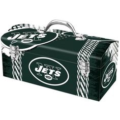 New York Jets Steel Tool Box - $59.99